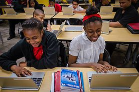AccelerateKID partners for the hour of code event